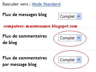 Deniers / récents commentaires Blogger