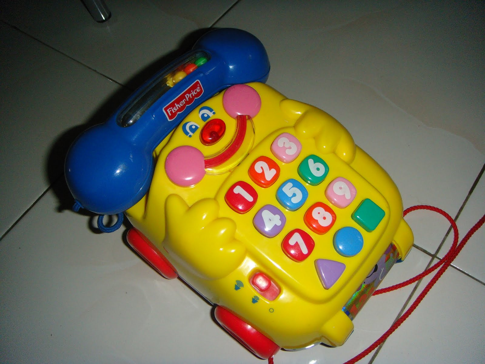 Letgo-a-lot: Fisher Price Speak and Teach Phone (SOLD)