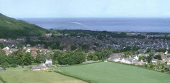 Tower Hill view of Abergele