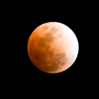 click for Larger Image of the Eclipsed Moon