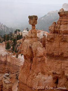 Click for Larger Image of Thor's Hammer in Bryce Canyon