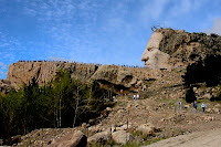 Click for Larger Image of Crazy Horse from Left Side