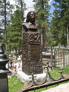Click for Larger Image of Wild Bill Hickok's Grave