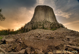 Click for Larger Image of Devil's Tower