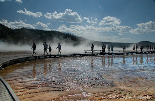 Click for Larger Image of the Grand Prismatic Spring