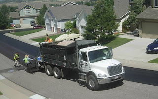 Click for Larger Image of Paving Truck