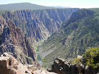 Click for Larger Image of Black Canyon of the Gunnison, Taken By John