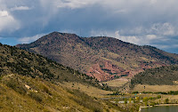 Click for Larger Image of Red Rocks From a Distance