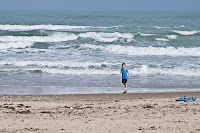 Click for Larger Image of Boy on Beach