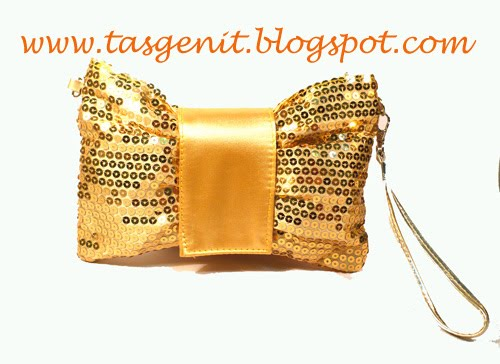 Glam Series Pita: Gold Clutch Bag (OUT OF STOCK)