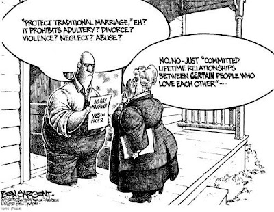 Gay Marriage Political Cartoons | CAFFEINATED POLITICS