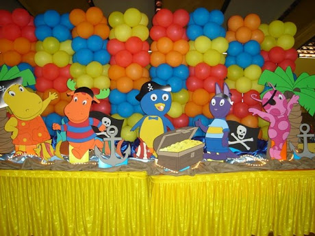 Decoracion Backyardigans