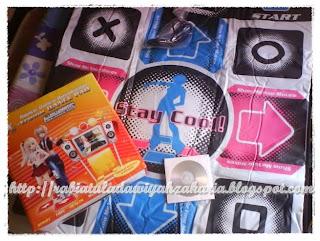 X-treme Dance Pad Platinum 8