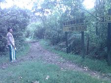 Salida de Chicaque hacia santandercito