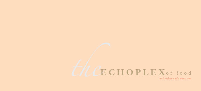 Echoplex of Food