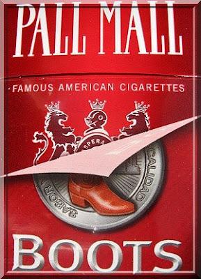 cigarros boots, nueva cara, Zigaretten Mexiko, cigarros México, mexican cigarettes, Pall Mall, BAT, British American Tobacco