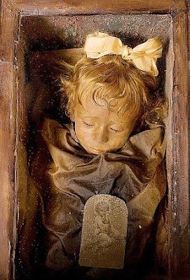 Mumie Rosalina, Kapuzinerkloster, Palermo, Sizilien, National Geographic