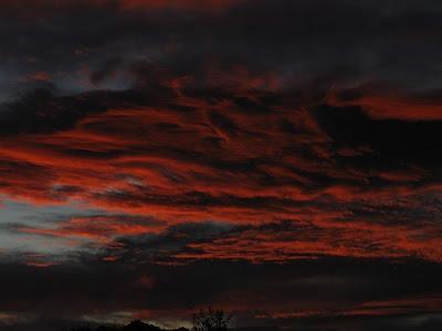 Sonnenuntergang Mexiko, Aguascalientes