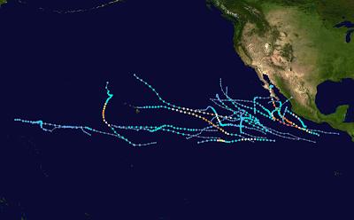 Hurrikansaison Pazifik 2009 - alle Stürme, Hurrikannamen, Pazifik, Sturmnamen,