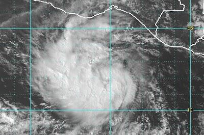 Pazifik aktuell: Tropischer Sturm DARBY, Darby, 2010, aktuell, Hurrikansaison 2010, Pazifik, Sturm, Vorhersage Forecast Prognose, Zugbahn,