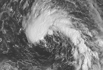 Atlantik aktuell: Subtropische Depression 17 (potenziell Sturm OTTO) , Otto, 2010, aktuell, Atlantik, Hurrikan Satellitenbilder, Hurrikansaison 2010, Live Stream Satellitenbild, Puerto Rico, Tropische Depression, Vorhersage Forecast Prognose,