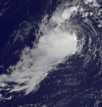 Atlantik aktuell: Tropischer Sturm SHARY vor den Bermudas, Shary, 2010, aktuell, Atlantik, Bermudas, Hurrikanfotos, Hurrikansaison 2010, Sturm, Vorhersage Forecast Prognose, Zugbahn,