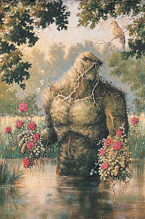 He brung flowers.