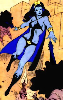 I know Night Girl would probably be a more appropriate heroine here, but Shadow Lass is undeniably MUCH MORE AWESOME.