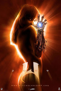 New 2009 Movies Witchblade Poster