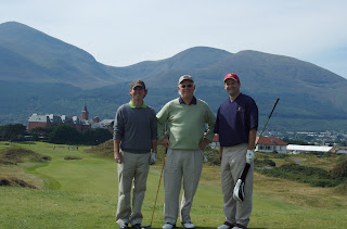hodson men at irish golf course