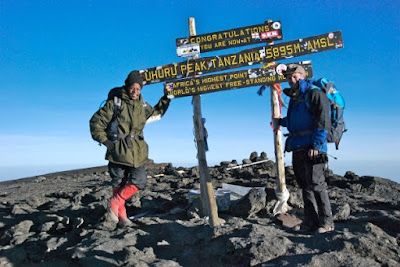 mount kilimanjaro summit uhuru peak michael hodson