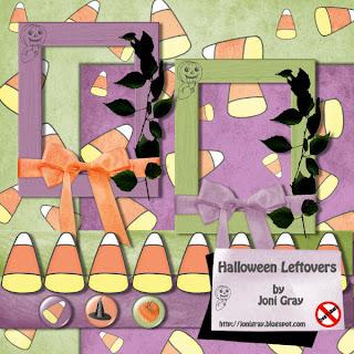 Halloween leftovers
