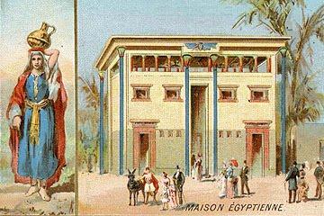 Florence de meredieu bleu rouge jaune van gogh et l for Architecture egyptienne