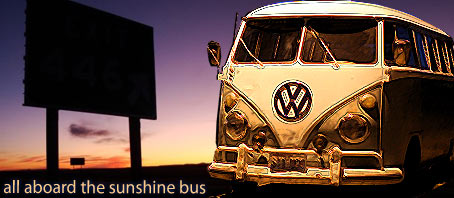 all aboard the sushine bus