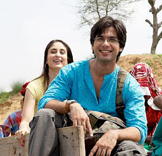 Kareena and Shahid kapoor in jab we met