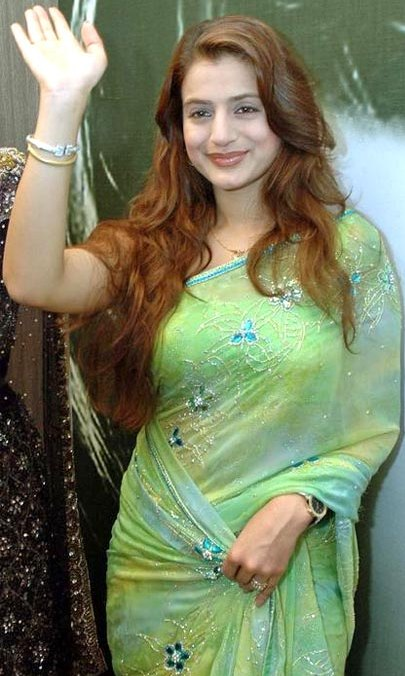 Amisha Patel 1 - Amisha Patel Pics in Traditional Dresses