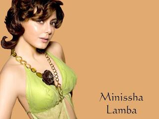 Minissha Lamba hot wallpapers