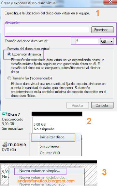 crear particion windows 8