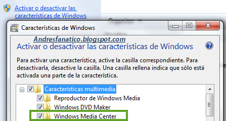 Como Desinstalar o quitar Windows 7 Media Center