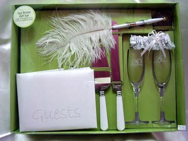 Bridal Wedding Accessories Set