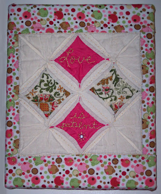 photo of Love quilt square