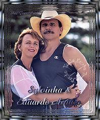 Sylvinha e Eduardo Araújo