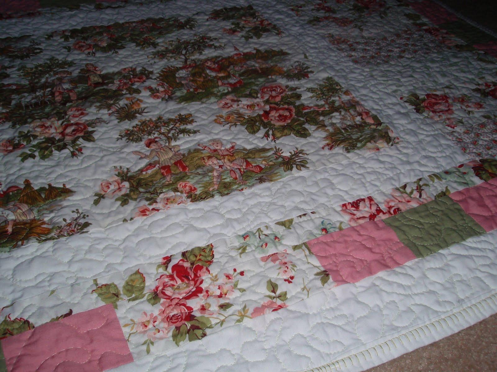 Oxford impressions quilt blog hop festival 2010 for Floor quilt for babies