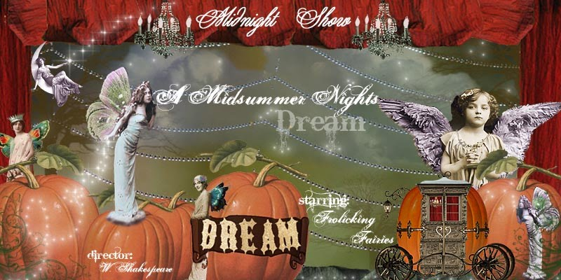A Midsummer Night&#39;s Dream Blog Banner part one