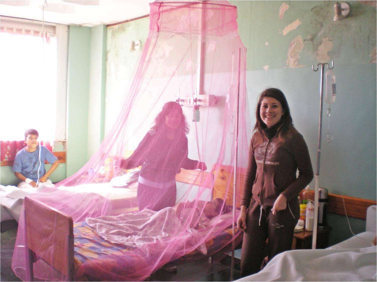 Instituto integral san antonio de padua desarrollo del for Mosquiteras para camas