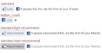 Facebook Like Button cho Blogspot