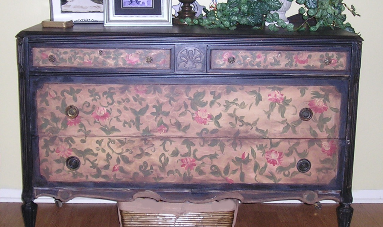 Jennifer d rizzo designs hand painted and repurposed Images of painted furniture