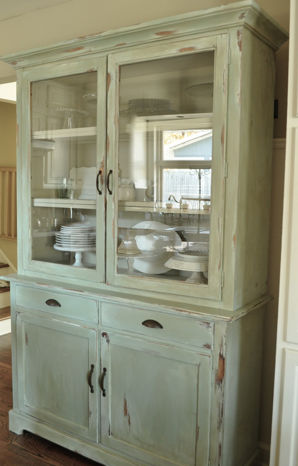 surprising How To Make Cabinets Look Old Part - 4: how to make a new peice of furinture look old with paint and distressing