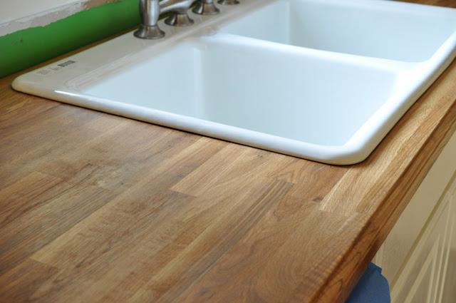 Wood butcher block countertops ikea