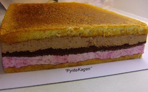 billede på kage